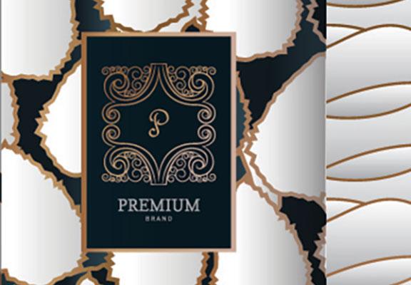 étiquette facing luxury