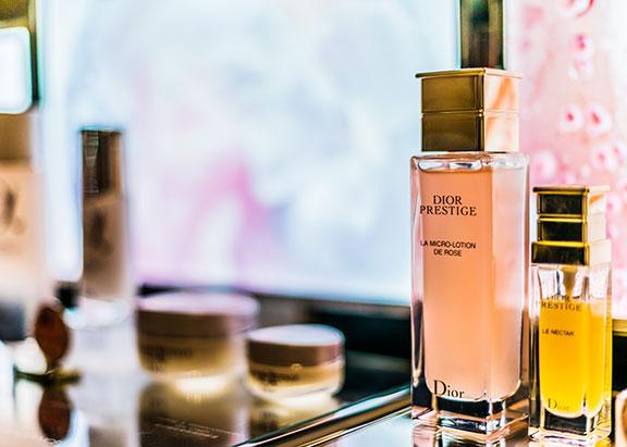 étiquettes facing parfums